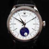 Rolex Cellini Moonphase Rose gold 39mm White No numerals United States of America, Florida, Aventura