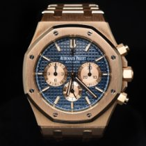 Audemars Piguet 26331OR.OO.1220OR.01 Or rose 2017 Royal Oak Chronograph 41mm occasion