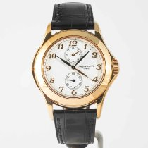 Patek Philippe Travel Time Rose gold 37mm White Arabic numerals United States of America, Massachusetts, Boston