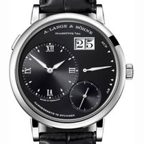 A. Lange & Söhne new Manual winding Small seconds Power Reserve Display 40.9mm White gold Sapphire crystal