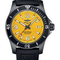 Breitling Steel Automatic Yellow 46mm new Superocean