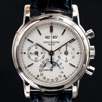 Patek Philippe Perpetual Calendar Chronograph White gold 36mm United States of America, Massachusetts, Boston