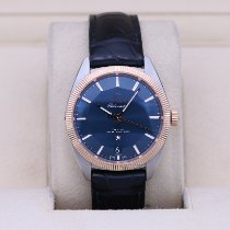 Omega Globemaster Gold/Steel 39mm Blue No numerals United States of America, Tennesse, Nashville