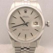 Rolex Oyster Precision Steel 34mm Silver No numerals United States of America, Michigan, Warren