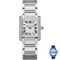 Cartier Tank Française Steel 30mm Silver Roman numerals United States of America, New York, New York City