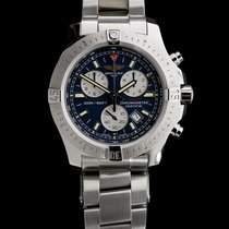 Breitling Colt Chronograph Steel 41mm Blue No numerals United States of America, Missouri, Columbia