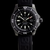 Breitling Superocean 44 pre-owned 44mm Black Date Rubber