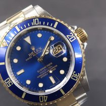 Rolex Submariner Date Gold/Steel 40mm Blue No numerals Malaysia