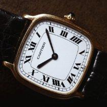 Cartier Santos (submodel) Gelbgold 27mm Weiß Römisch Schweiz, Milan