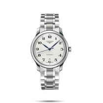 Longines Master Collection Steel 38.5mm Silver Arabic numerals United States of America, New York, Bellmore