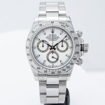 Rolex Daytona Steel 40mm White No numerals United States of America, Massachusetts, Boston