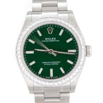 Rolex Oyster Perpetual 31 Steel 31mm Green
