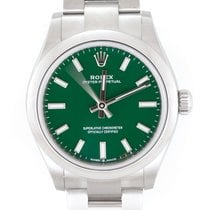 Rolex Oyster Perpetual 31 Acero 31mm Verde