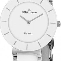 Jacques Lemans Classic Milano Steel 30mm White