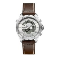 Hamilton Khaki Flight Timer Steel 40mm Silver
