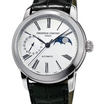 Frederique Constant FC-712MS4H6 Steel Manufacture Classic Moonphase 42mm new