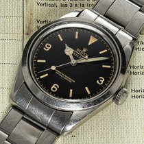 Rolex Explorer Steel Black