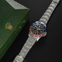 Rolex GMT-Master Stahl Schwarz