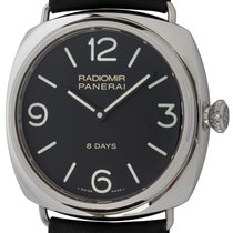 Panerai Radiomir 8 Days Steel 45mm Black Arabic numerals United States of America, Texas, Austin