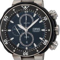 Oris ProDiver Chronograph Titanium Zwart