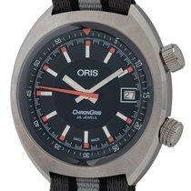 Oris Chronoris Steel 39mm Black United States of America, Texas, Austin