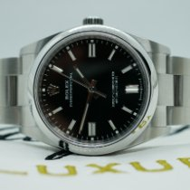 Rolex Oyster Perpetual 36 Steel 36mm Black No numerals United Kingdom, Liverpool