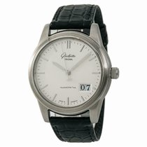 Glashütte Original Senator Automatic Steel 42mm Silver No numerals United States of America, New York, New York