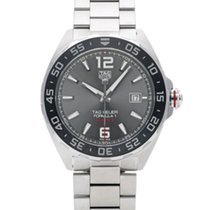 TAG Heuer Formula 1 Calibre 5 pre-owned 43mm Grey Steel