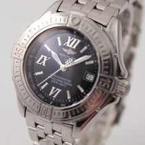Breitling Cockpit Lady Steel 31mm Black Roman numerals