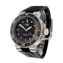 Oris Aquis Depth Gauge new Automatic Watch with original box 01 733 7675 4154