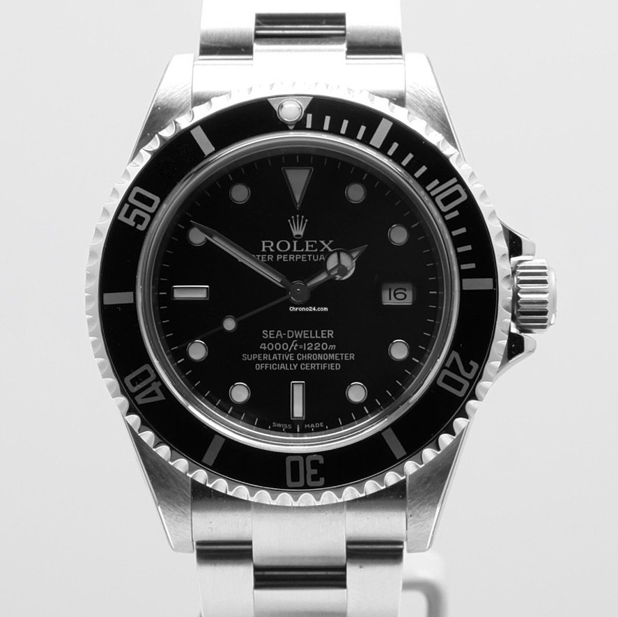 Rolex Sea-Dweller 4000 16600 neu