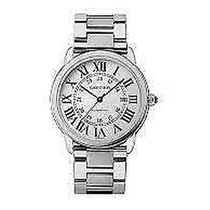 Cartier Ronde Solo de Cartier Steel 42mm White United States of America, New York, New York