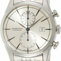 Hamilton Spirit of Liberty Steel 42mm Silver United States of America, New Jersey, Somerset