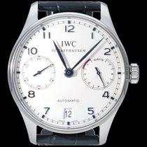 IWC Portuguese Automatic Acier 42.3mm Blanc Arabes