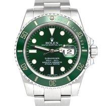 Rolex Submariner Date Steel 40mm Green No numerals United Kingdom, Manchester