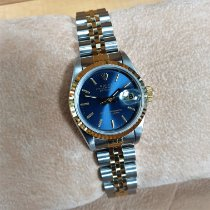 Rolex Lady-Datejust Gold/Steel 26mm Blue No numerals United Kingdom, Kent