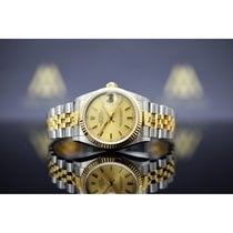 Rolex Datejust Золото/Cталь 31mm Золотой