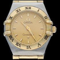 Omega Constellation Ladies Or/Acier 23mm Or Sans chiffres