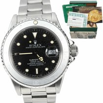 Rolex Submariner pre-owned 40mm Black Date Steel