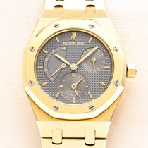 Audemars Piguet Or jaune Remontage automatique Sans chiffres 36mm occasion Royal Oak Dual Time
