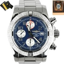 Breitling Avenger II Steel 43mm Blue Arabic numerals United States of America, New York, Smithtown