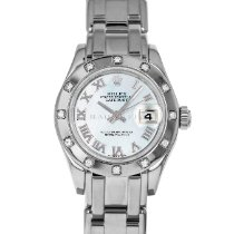 Rolex 80319 Or blanc 2001 Lady-Datejust Pearlmaster 29mm occasion