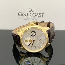 IWC Yellow gold Automatic Silver 44mm new Portuguese Perpetual Calendar