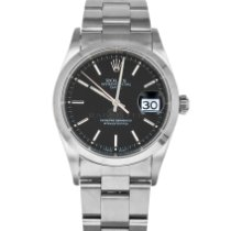 Rolex Oyster Perpetual Date Steel 34mm Black No numerals United States of America, Maryland, Baltimore, MD