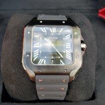 Cartier Santos (submodel) новые 2020 Автоподзавод Часы с оригинальными документами и коробкой WSSA0039