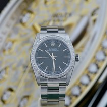Rolex Oyster Perpetual 31 Acciaio 31mm Nero Senza numeri Italia, Ravenna