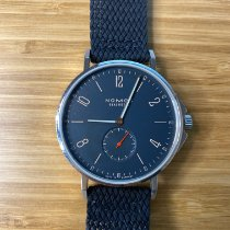 NOMOS Ahoi Atlantik Steel 40.3mm Blue Arabic numerals United States of America, California, San Mateo