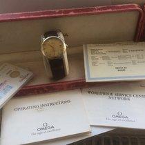 Omega De Ville Prestige Acero y oro 35mm Plata Sin cifras
