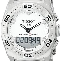 Tissot Racing-Touch Stahl 43mm Silber