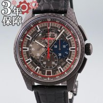 Zenith Carbon Automatic Grey 44mm pre-owned El Primero Lightweight